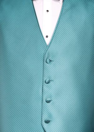 teal-metallic-vest-bow-tie