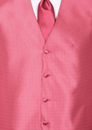 Fuchsia Devon Vest with Fuchsia 4Hand Tie