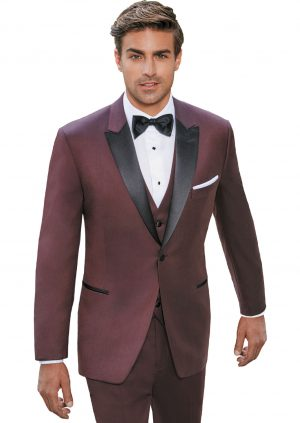 Burgundy-Slim-fit-Tuxedo