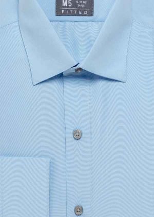 Men's Blue Dress Shirt