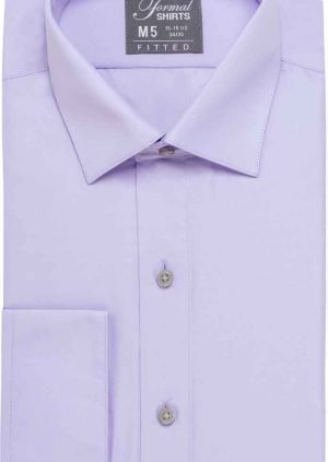 Men's Lilac Dress Shirt