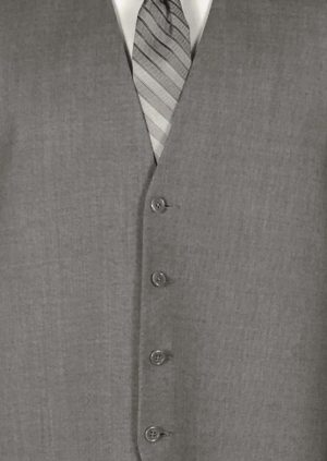 Grey Valencia Suit Vest