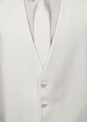 White vest by allure for men