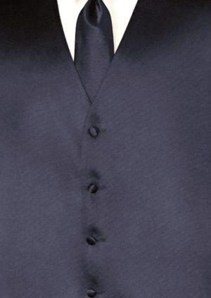 dark navy simply solid vest