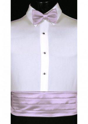 Iris Cummerbund and bow tie