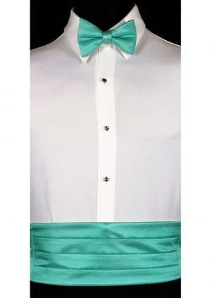 Mermaid Cummerbund and bow tie