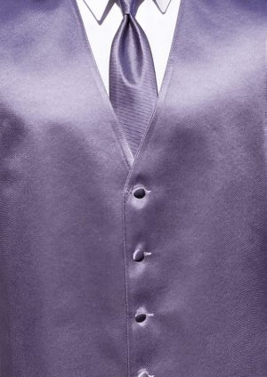 victorian lilac simply solid vest