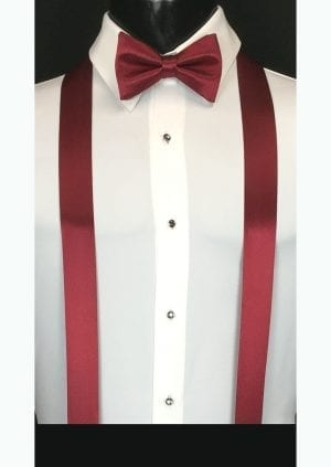 apple red suspenders