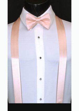 blush pink suspenders
