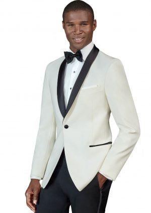 Ivory-Black-Lapel-Tuxedo