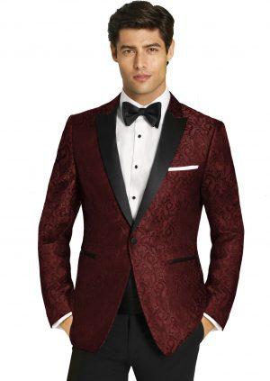 Burgundy-Paisley-Tuxedo
