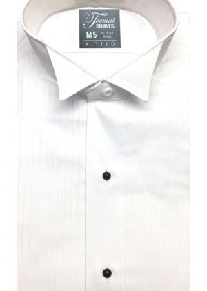 Fitted-Pleated-Wing-Collar
