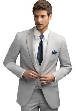 Silver-Grey-Wedding-Suit