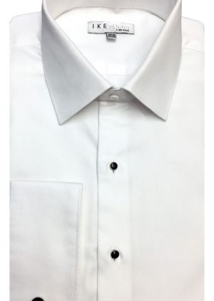 White-Cotton-Rich-Dress Shirt