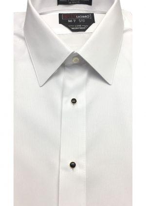 White-Whisper Stripe Dress-Shirt