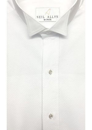 White-Pique-Wing-Collar-Shirt