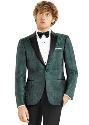 Green Paisley Dinner Jacket