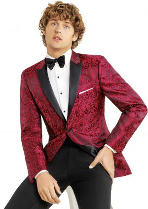 Red Paisley Dinner Jacket